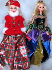 Winter Princess Collection Barbies -2
