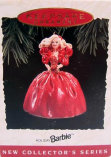 First Collectible barbie 1988 Happy Holidays Barbie