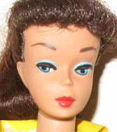 Montgomery Ward Reissue Barbie - Head Shot