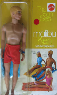 Sunset Malibu Ken from 1971