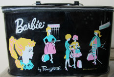 1962 Barbie Train Case