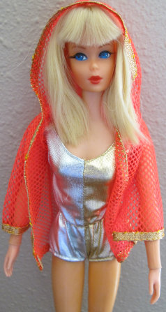 Dramatic Living Barbie from 1970