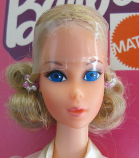 Quick Curl Barbie from 1973
