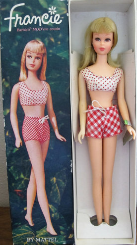 Number 1140 Blonde Straight leg Francie Box